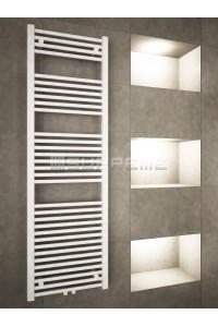500 x 1600 mm Multi Tilslutning Kombi Hvid Håndklæderadiator