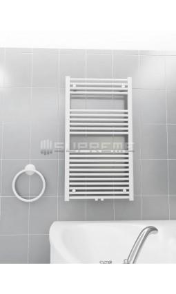 600 x 1100 mm Multi Tilslutning Kombi Hvid Håndklæderadiator