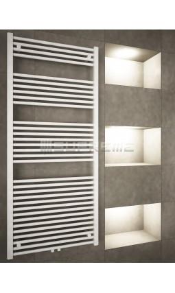 700 x 1600 mm Multi Tilslutning Kombi Hvid Håndklæderadiator