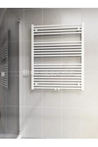 800 x 1000 mm Multi Tilslutning Kombi Hvid Håndklæderadiator
