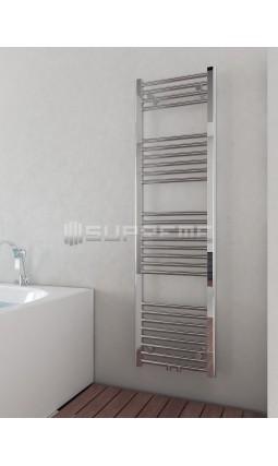 400 x 1400 mm Multi Tilslutning Kombi Krom Håndklæderadiator