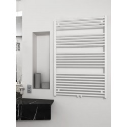 800 x 1200 mm Multi Tilslutning Kombi Hvid Håndklæderadiator