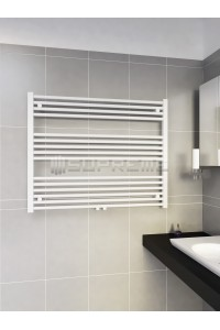1000 x 800 mm Multi Tilslutning Kombi Hvid Håndklæderadiator