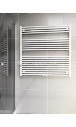 1000 x 1000 mm Multi Tilslutning Kombi Hvid Håndklæderadiator