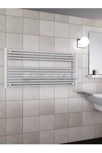 1200 x 600 mm Multi Tilslutning Kombi Hvid Håndklæderadiator
