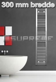 300 mm Brede Håndklæderadiator & Håndklædetørrer