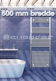 600 mm Brede Håndklæderadiator & Håndklædetørrer