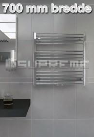 700 mm Brede Håndklæderadiator & Håndklædetørrer