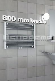 800 mm Brede Håndklæderadiator & Håndklædetørrer