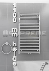 1100 mm Høj Håndklæderadiator & Håndklædetørrer