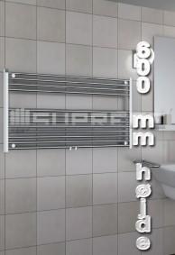 600 mm Høj Håndklæderadiator & Håndklædetørrer