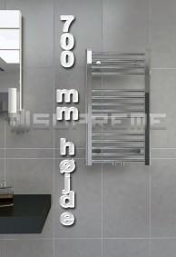 700 mm Høj Håndklæderadiator & Håndklædetørrer