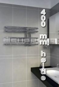400 mm Høj Håndklæderadiator & Håndklædetørrer